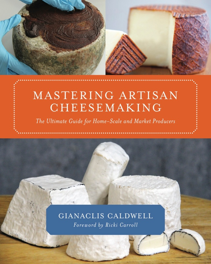 Mastering Artisan Cheese Making cover