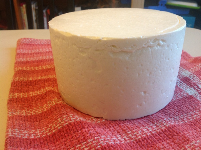 There are a few imperfections in the rind, but  I am quite happy
