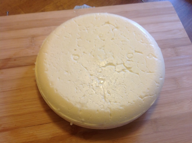 I was generally happy with the rind, I think next time I will try to press in the pot to start.