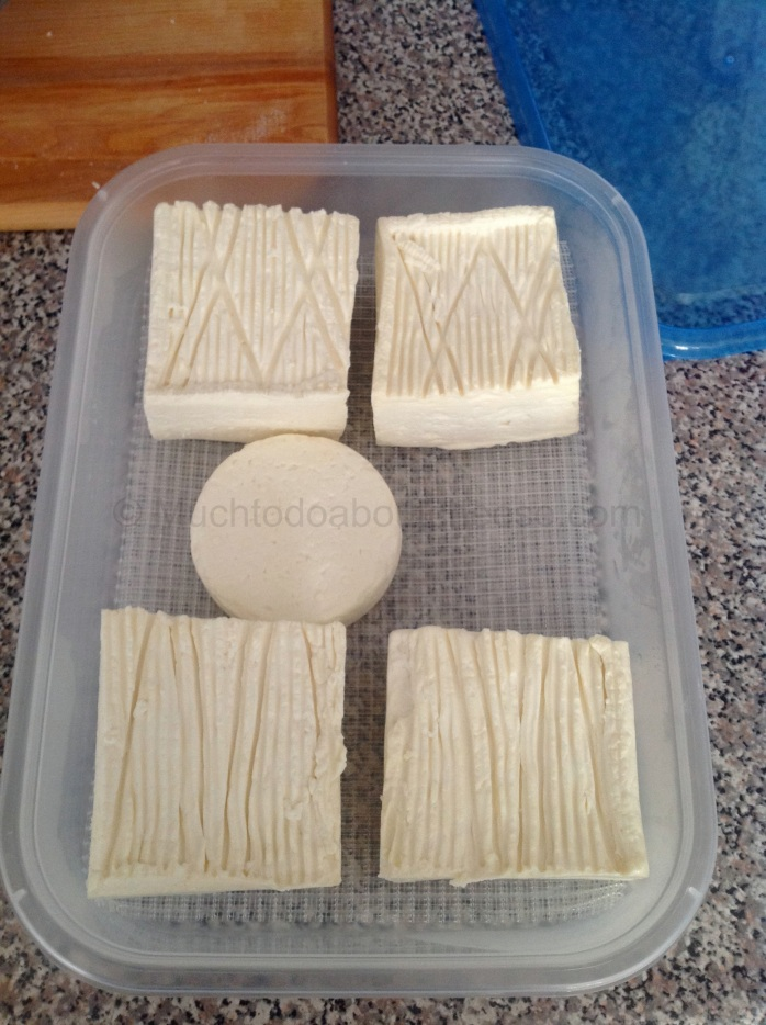 Then it was into a ripening box and then start the washing of the rind.