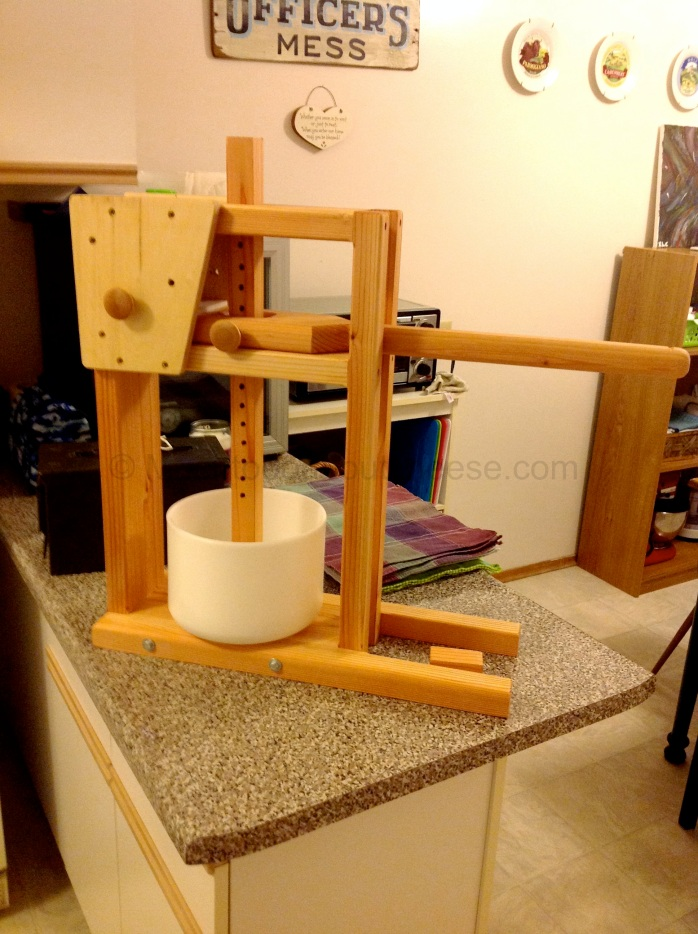 It did not take much to put it together. My 8 year old son and 2 year old daughter helped.  My new press was assembled.