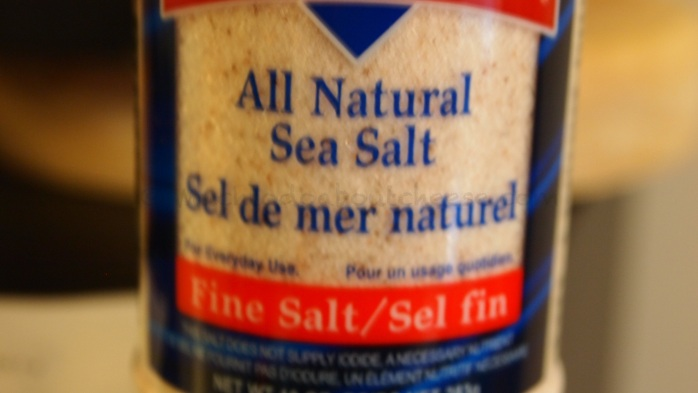 I have been asked what type of salt I use - Redmond Real Salt - All Natural Sea Salt.  I love the flavour it gives.