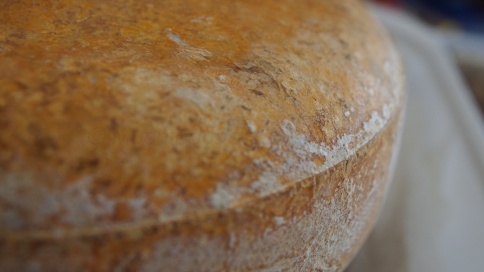 "Our beautiful natural rind ""Beaufort"" aged 375 days."