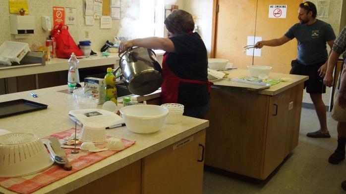 My trip to Grande Prairie to teach cheese making for Grande Prairie Regional College.