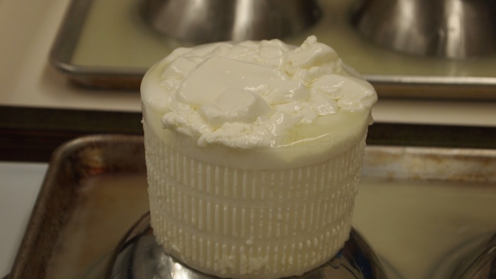 Nice and fluffy curd.