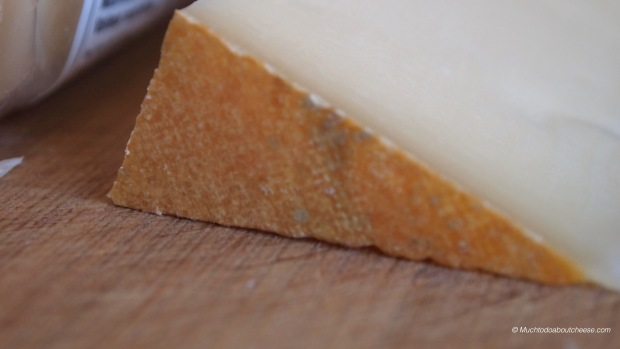 It is a washed rind cheese, but without being overly stinky