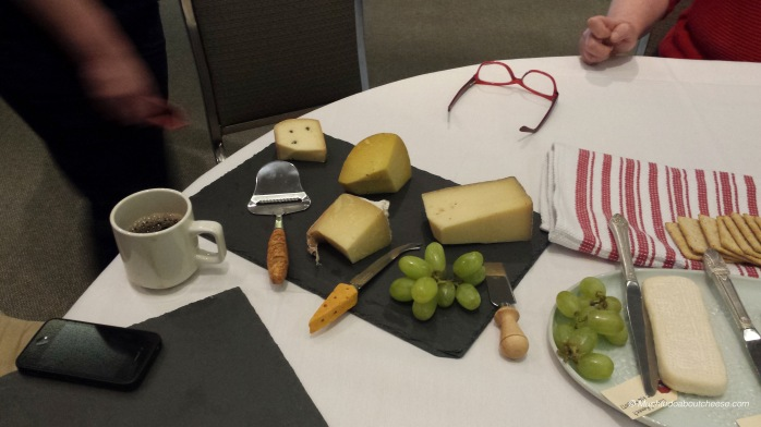 I brought some of the remaining cheeses from Addie and my Canadian Cheese Grand Prix tasting