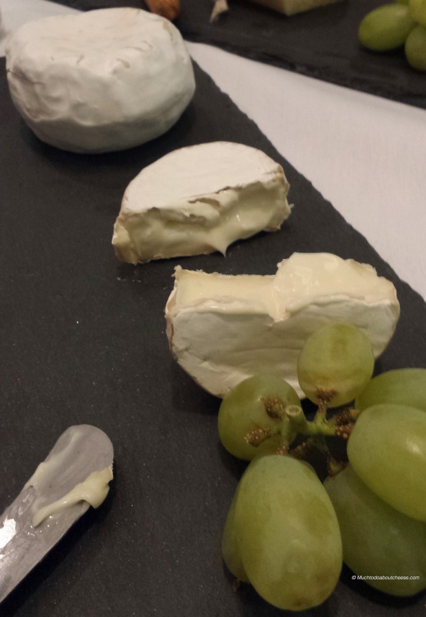 Here is Addie's Brie Bite in the foreground and Janet's Lovely Camembert in the background