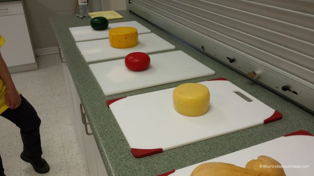 More Firm cheeses