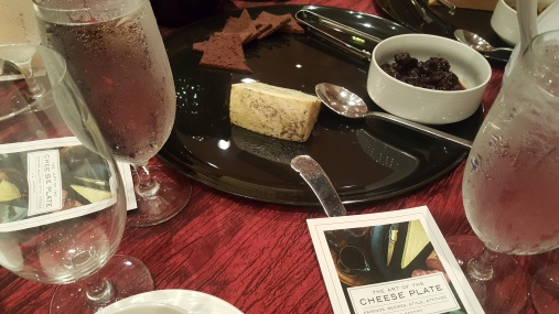 The Cheese was already paired with some interesting things