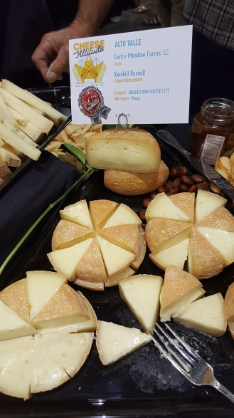 I had a chance to me Kendel who made a sheep milk washed rind using the same cardoon enzyme. It was amazing. He placed 2nd in his category.